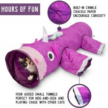 Pet Craft Supply Magic Mewnicorn Cat Tunnel