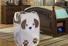 Dog Popup Laundry Hamper