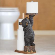 Bear Cub Toilet Paper Holder