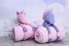 Unicorn Plush with Blanket