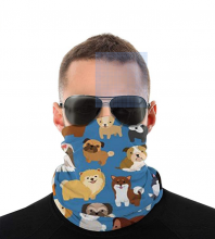 Cute Dogs Neck Gaiter