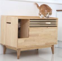 Rifiuti Cat Litterbox Puts Out Retro Radio Vibes