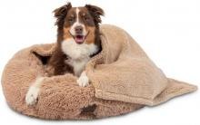 Pet Craft Supply Ultra Soft Calming Pet Bed and Blanket