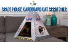 Pet Craft Supply Cardboard Cat Space House