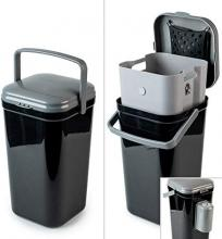 PetFusion Portable Outdoor Pet Waste Disposal Bin