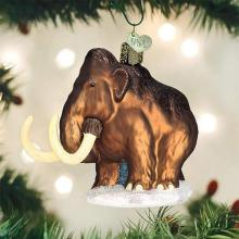 Woolly Mammoth Christmas Ornament