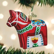 Christmas Dala Horse Ornament