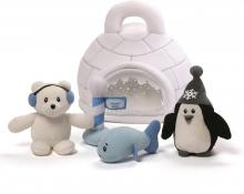 My Little Igloo Plush Toy Set
