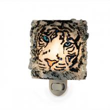White Tiger Recycled Glass Night Light