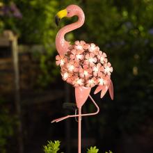Solar Light Garden Flamingo