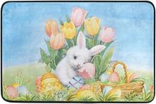 Baby Easter Bunny Door Mat