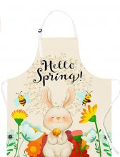 Happy Spring Kitchen Apron