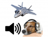 Noise Phobia like F-35Bs, Major Concern For Dogs & Owners